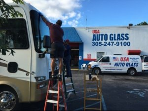 RV Glass Repair In Miami, Florida